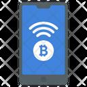 Mobile Bitcoin Icon