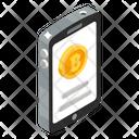 Bitcoin Account Mobile Bitcoin Online Bitcoin Icon