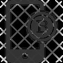 Mobile Wallet Bitcoin Icon