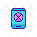 Mobile Block Icon