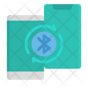 Mobile Bluetooth Icon