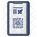 Mobile Boarding Pass Boarding Pass Ticket Icon
