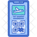 Mobile Boarding Pass Icon