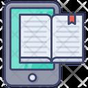 Mobile Book Ebook Phone Icon