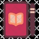 Mobile Book Ebook Online Book Icon