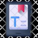 Mobile Bookmark Icon
