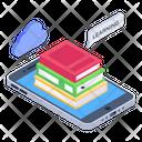 Ebooks Mobile Books Online Books Icon