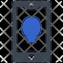 Mobile Brightness Icon
