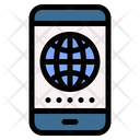 Internet App Android Icon