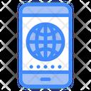 Mobile Browser Mobile Internet Mobile Icon