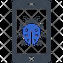 Malware Mobile Virus Icon