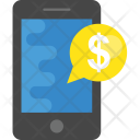 Mobile Dollar Bubble Icon