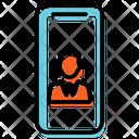 Mobile Business App Plan Presentation Icon