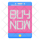 Mobile Buy Now Icon
