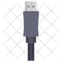 Mobile Cable Charging Cable Data Cable Icon