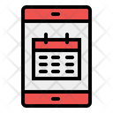 Calendar Mobile Time And Date Icon