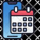 Mobile Calendar Mobile Calendar Icon