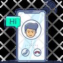 Mobile Call Incoming Call Smartphone Call Icon