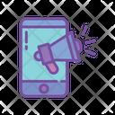 Mobile campaign Icon