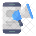 Mobile Campaign Mobile Marketing Online Promotion Icon
