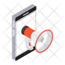 Mobile Campaign Social Marketing Publicity Icon