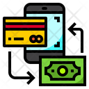 Mobile Card Payment Mobile Exchange Payment Icon