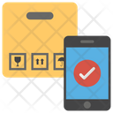 Mobile Cargo Online Order Order Booking Icon