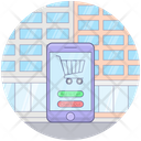 Mobile Cart Commerce Mobile App Shopping App Icon
