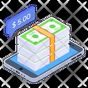 Mobile Cash Icon