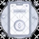 Money Back Mobile Cashback Mobile Money Icon