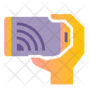 Mobile Cast Cast Mobile Stream Icon