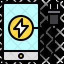 Charge Smartphone Ecology Icon