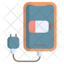 Phone Charger Cable Battery Icon