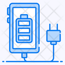 Mobile Charging Mobile Charger Smartphone Charging Icon