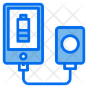 Smartphone Charger Energy Icon