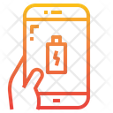 Charging Battery Smartphone Icon