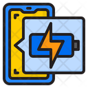 Mobile Charging Battery Charge Icon
