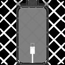 Set Battery Flat Icon Icon