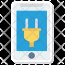 Plug Mobile Phone Icon