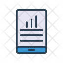 Mobile Chart Device Icon