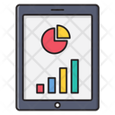 Graph Chart Tablet Icon