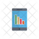Mobile Chart Report Icon