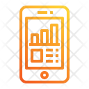 Mobile Chart Icon