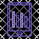 Mobile Chart Graph Icon