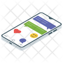 Mobile Chat Messaging Communication Icon