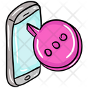 Mobile Chat Mobile Message Communication Icon