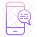 Mobile Chatm Mobile Chat Mobile Message Icon