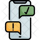 Mobile Online Customer Icon