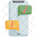 Mobile Online Question Icon
