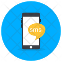 Mobile Chat Mobile Message Mobile Text Icon